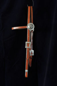 BR07 Chestnut Browband Headstall