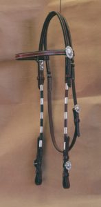 MI712 Rolled Round Headstall
