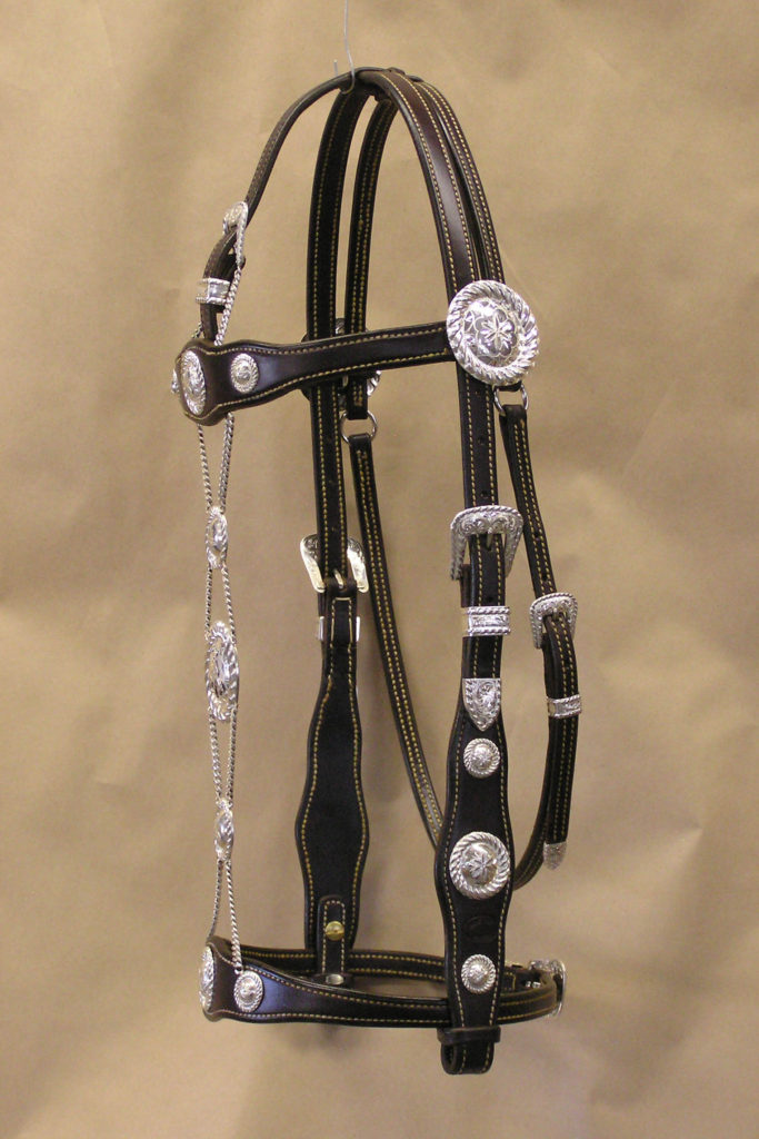 Santa Barbara Headstall SU05 Sideview